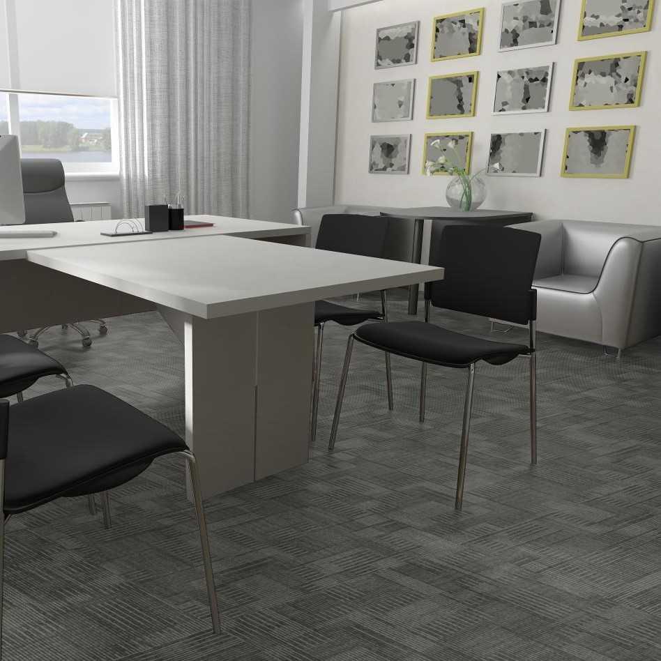 Blockade Modular T Carpet Tiles Pentz - Gridlock floor tiles