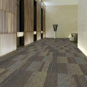 Enhanced Graphic Loop Commercial Carpet Tiles