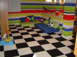 Checkered Flag Carpet Tiles