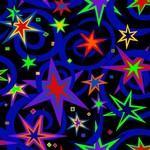 Night Life Blacklight Carpet