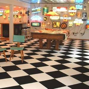 Checkered Flag Commercial Carpet Tiles