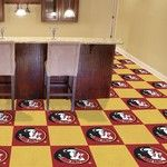 Florida State  University Collegiate Carpet Tile