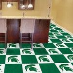 Michigan State University Collegiate Carpet Tile