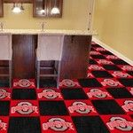 Ohio State University Collegiate Carpet Tile