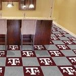 Texas A&M Collegiate Carpet Tile