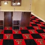 Texas Tech University Collegiate Carpet Tile