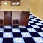 UNC Chapel Hill Collegiate Carpet Tile