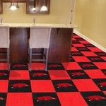 University of Arkansas Collegiate Carpet Tile