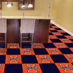 University of Illinois Collegiate Carpet Tile