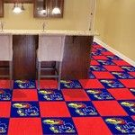 University of Kansas Collegiate Carpet Tile
