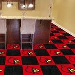 University of Louisville Collegiate Carpet Tile