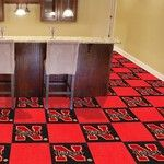 University of Nebraska Collegiate Carpet Tile