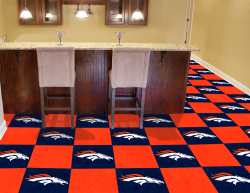 NFL Carpet Tiles | Man Cave Flooring | Team Carpet