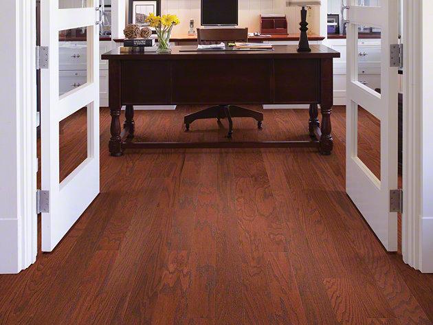 Sw489 Smoke House Shaw Hardwood Flooring